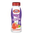 MLEKOVITA Bez laktozy Jogurt Polski Pitny truskawkowy 250g