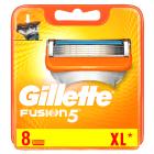GILLETTE Fusion Manual Nożyki do golenia - 8szt 1szt