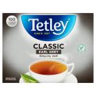 TETLEY Classic Earl Grey Herbata Czarna Aromatyzowana 100 torebek 160g