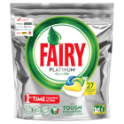 FAIRY PLATINUM All in One Kapsułki do zmywarek Lemon 27 szt 1 szt