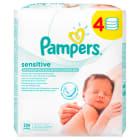 PAMPERS Sensitive Chusteczki nawilżane 4x56 szt 1szt