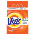 VIZIR ALPINE FRESH Proszek do prania tkanin białych 1.5kg