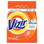 VIZIR ALPINE FRESH Proszek do prania tkanin białych 2.85kg