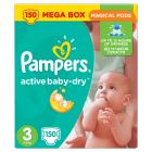 PAMPERS Active Baby Dry Pieluchy Rozmiar 3 Midi (4-9kg) 150 szt 1szt