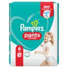 PAMPERS Pieluchomajtki Rozmiar 6 (15+kg) 19 szt 1szt