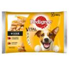 PEDIGREE Vital Protection Pokarm dla psa karma pełnoporcjowa (4 saszetki) 400g