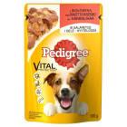 PEDIGREE Pokarm dla psów z wołowiną w galaretce - saszetka 100g