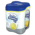 WARKA Radler Piwo bezalkoholowe Cytryna 4x500ml 2 l