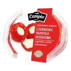 CAMPIO Czerwona słodka papryka nadziewana serem 250g