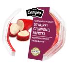 CAMPIO Dzwonki czerwonej papryki nadziewane serem 250g