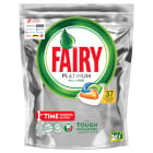 FAIRY PLATINIUM All in One Kapsułki do zmywarki Orange 37 szt. 1 szt
