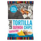 CASA DE MEXICO Tortilla chips solone z qiunoa bezglutenowe 125g