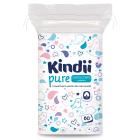 CLEANIC Kindii Płatki kosmetyczne dla dzieci i niemowląt 60 szt. 1szt