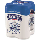 ŻYWIEC Piwo bezalkoholowe w puszce 4x500ml 2l