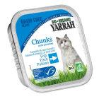 YARRAH Pokarm dla kota - kurczak z kawałkami ryby i spirulą EKO 100g