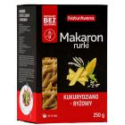 NATURAVENA Makaron bezglutenowy kukurydziano-ryżowy rurki 250g