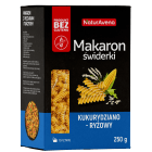 NATURAVENA Makaron bezglutenowy kukurydziano-ryżowy świderki 250g