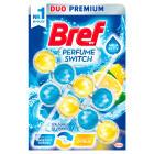 BREF Perfume Switch Zawieszka do WC - Świeżość oceanu-Cytrus 2x50g 1szt