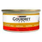 GOURMET Gold Pokarm dla kotów - mus z wołowiną (puszka) 85g