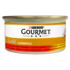 GOURMET Gold Karma dla kotów z wołowiną i kurczakiem w sosie z pomidorami 85g