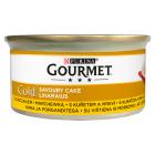 GOURMET Gold Karma dla kotów z kurczakiem i marchewką 85g
