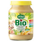 OVKO Deserek jabłko, banan, morela -  po 4 miesiącu BIO 190g