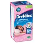 HUGGIES DryNites Jednorazowe majteczki na noc dla dziewczynek 4-7 lat 10 szt. 1szt