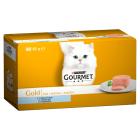 GOURMET Gold Karma dla dorosłych kotów Mus z tuńczykiem 4 szt 340g