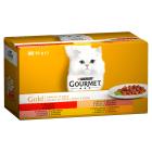 GOURMET Gold Karma dla dorosłych kotów kawałki w sosie 4 szt 340g