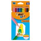 BIC Kids Kredki ołówkowe Tropicolors2 12 kolorów 1szt