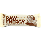 BOMBUS RAW ENERGY Baton kokos-kakao (bezglutenowy) 50g