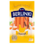 MORLINY Berlinki Parówki z kurcząt 250g