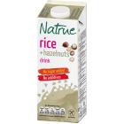 NATRUE Napój ryżowy z orzechami laskowymi niesłodzony bezglutenowy 1l