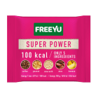 FREEYU Baton daktylowy z bananem, kawą, amarantusem SUPER POWER 28g