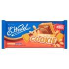 WEDEL Cookie Czekolada mleczna z nadzieniem peanut butter i herbatnikiem 290g