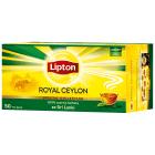 LIPTON ROYAL CEYLON Herbata czarna 50 torebek 100g