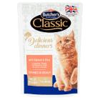 BUTCHER'S Classic Karma dla kotów kawałki w sosie z łososiem i doradą 100g
