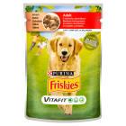 FRISKIES Vitafit Adult Karma dla psów z wołowiną i ziemniakami w sosie 100g