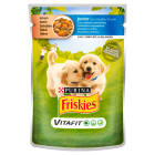 FRISKIES Vitafit Adult Karma dla psów z kurczakiem i marchewką w sosie 100g