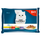 GOURMET Gold Pokarm dla kotów - Delikatny mięsny duet  4x85g(saszetki) 340g