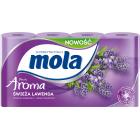 MOLA FRESH Papier toaletowy Aroma Świeża Lawenda 8 rolek 1szt