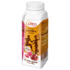 LATO PEŁNE SŁOŃCA Grecki jogurt pitny o smaku malina-granat 250ml