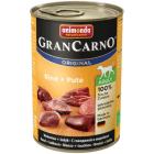 ANIMONDA Grancarno Adult Pokarm dla psa - Wołowina + Indyk 400g