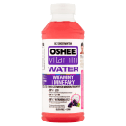 OSHEE Vitamin H2O Napój niegazowany o smaku czerwonych winogron i dragonfruit 555ml