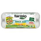 FARMIO Jaja kurze rozmiar L, 10 szt (pasze wolne od GMO) 1szt