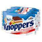 KNOPPERS Wafelek mleczno orzechowy 3 sztuki 75g