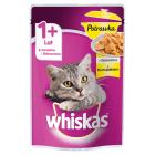 WHISKAS Potrawka 1+ Pokarm dla Kotów z Kurczakiem w Galaretce- Saszetka 85g