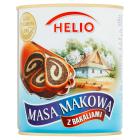 HELIO Masa makowa z bakaliami (puszka) 850g