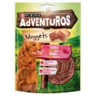 ADVENTUROS Nuggets Karma uzupełniająca dla dorosłych psów o smaku dzika 90g