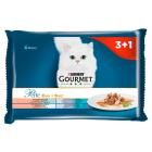 GOURMET Perle Pełnoporcjowa karma dla dorosłych kotów duet (4 x 85 g) 340g